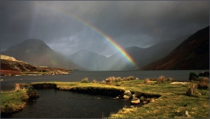 Wastwater Storm by Brian Trego - Winner of The Pauls Trophy for Landscape/Seascape Projected Image