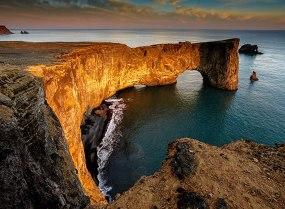 Dyrholeay Arch
